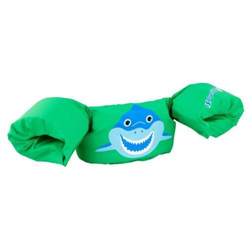 Puddle-Jumpers---Größenverstellbare-Schwimmflügel-Hai---Grün