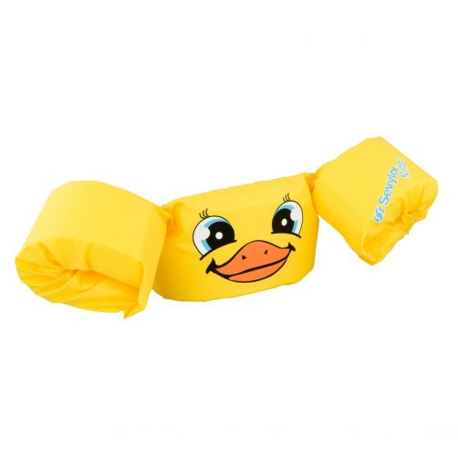 Puddle-Jumpers---Größenverstellbare-Schwimmflügel-Duck-girl---Gelb