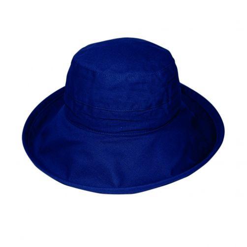 Rigon---UV-Bucket-Hut-für-Damen---Marineblau