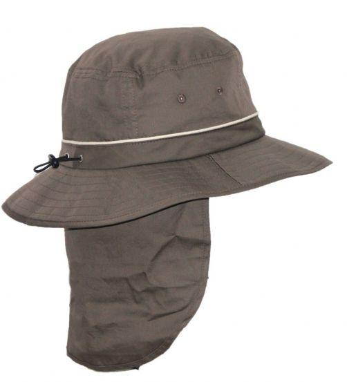 Rigon---UV-Bucket-Hut-für-Herren-mit-Nackenschutz---Khaki