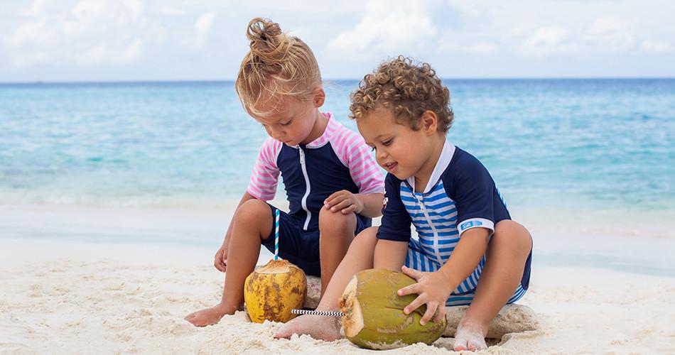 Baby UV schutzkleidung und Badebekleidung