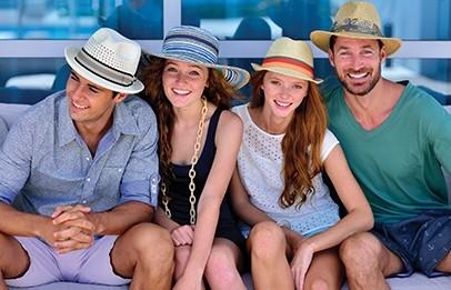 Dorfman Pacific Hüte für Jung und Alt