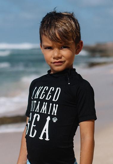 UV-Badeshirts für Jungen