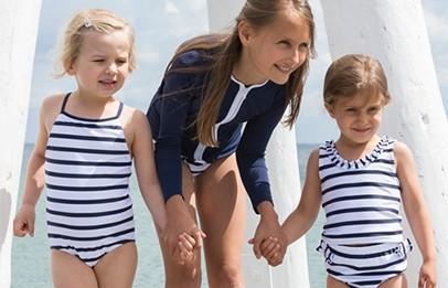 Petit crabe UV-Schwimmkleidung für Jungen und Mädchen