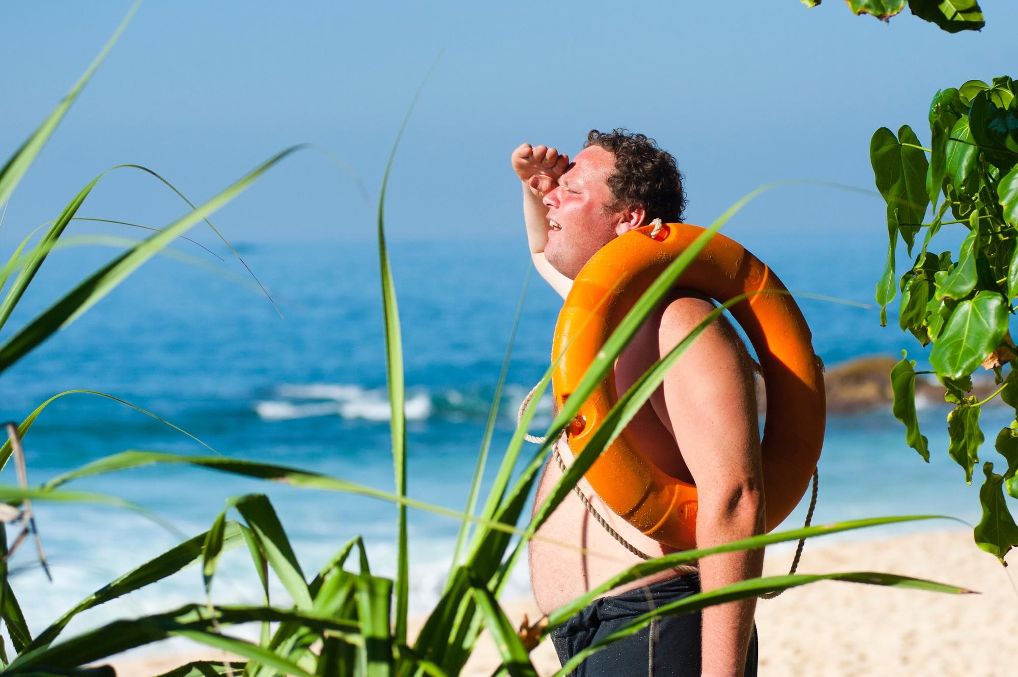Auch ein leichter Sonnenbrand ist Stress für die Haut. Mit UV-Kleidung können Sie Sonnenbrand vorbeugen.